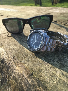 SKX007 catching some rays